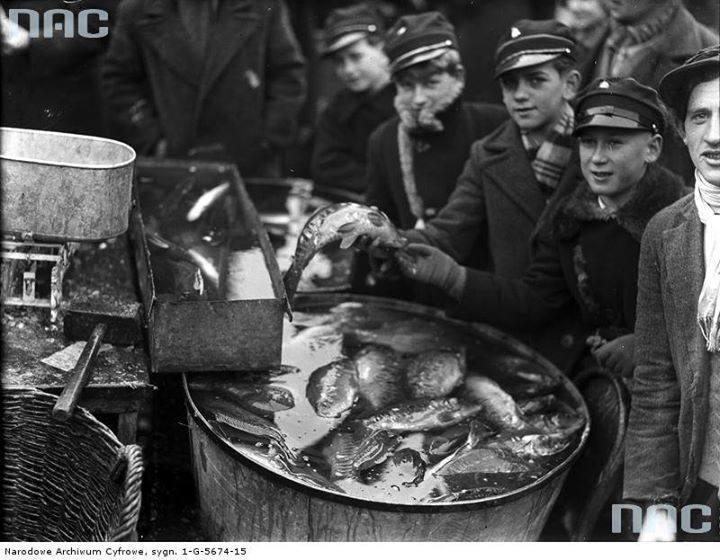 Przedświąteczna sprzedaż ryb