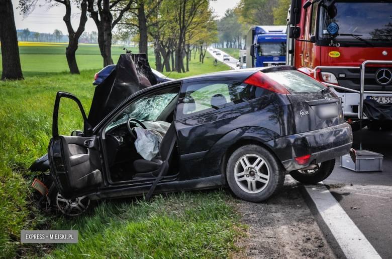 Groźny wypadek na drodze Wrocław – Kłodzko [ZDJĘCIA]