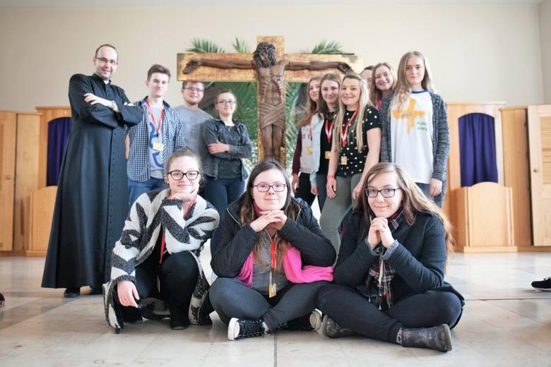 Kościół seminaryjny w Opolu to stałe miejsce spotkań młodych przed Niedzielą Palmową.