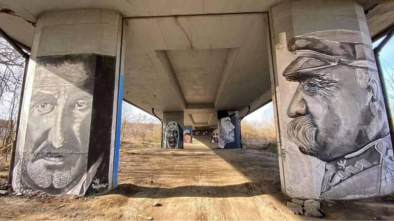 Krzysztof Krawczyk ma swój mural w Gorzowie! Można go zobaczyć na jednym z Filarów Sztuki
