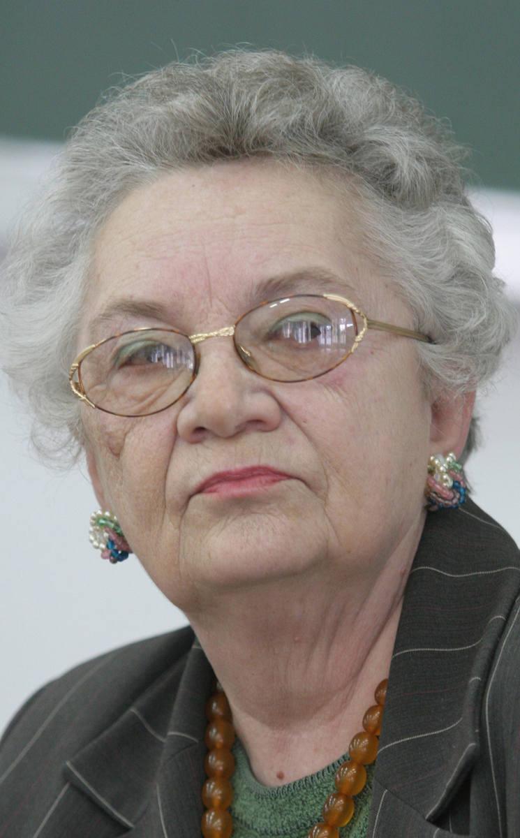 Autorka wspomnień, Zofia Kalisz przez kilka lat przewodziła Oddziałowi Sybiraków w Toruniu