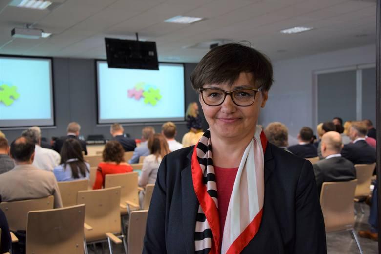 Agnieszka Tront - Stefańczuk, dyrektor firmy Nord Napędy w Nowej Soli