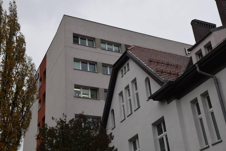 Poliklinika w Zielonej Górze. W niej - zdaniem prezydenta miasta - mógłby w razie potrzeby powstać drugi szpital tymczasowy