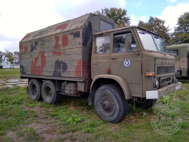 Autobus Sztabowy AS-2 na STAR-266 (z częściowym wyposażeniem) - rok produkcji 1977 - cena 9000 zł, AMW Lublin