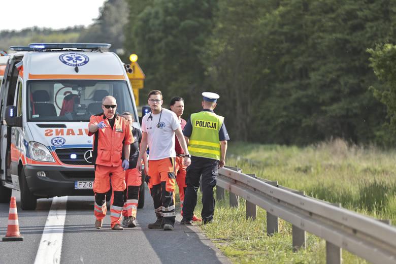 W wypadku na S3 zginął motocyklista