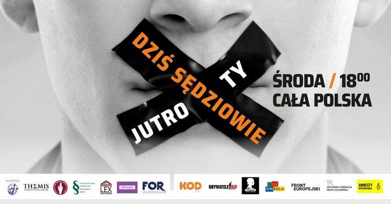 Protesty w obronie sądów w całej Polsce 18.12.2019 r. Gdzie odbywają się manifestacje? [MAPA]