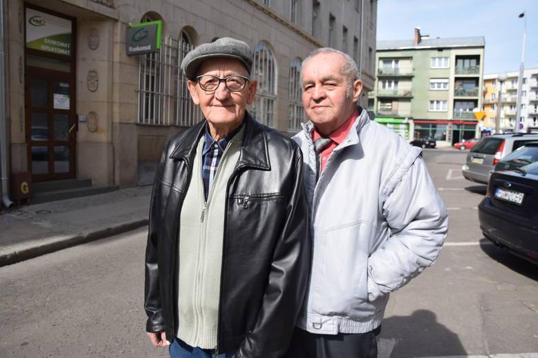 Kazimierz Stanicki  (z lewej) i Stefan Wiśniewski
