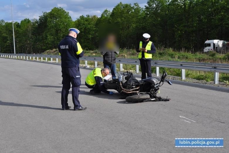 Tragiczny wypadek motocyklisty. 40-letni wrocławianin nie żyje