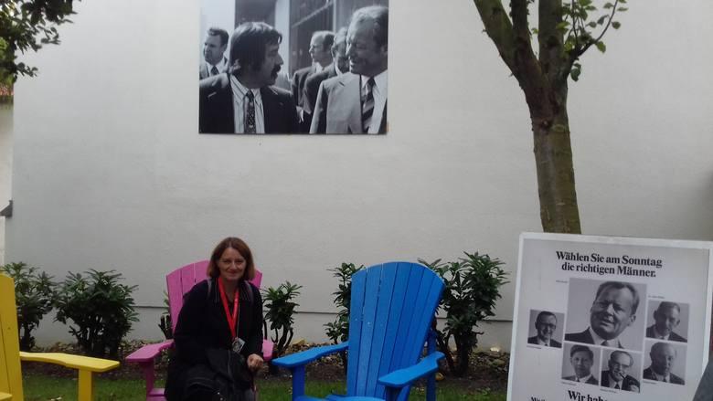 W ogrodzie Domu Willy'ego Brandta