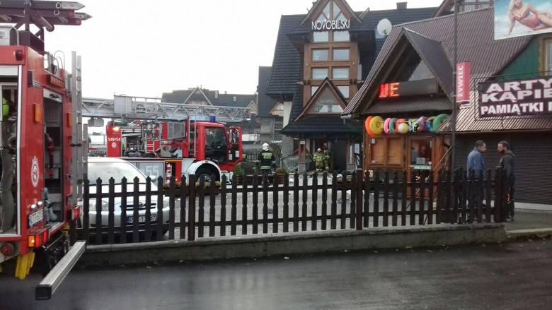 Wybuch gazu w hotelu w Białce Tatrzańskiej. Są poszkodowani [ZDJĘCIA]