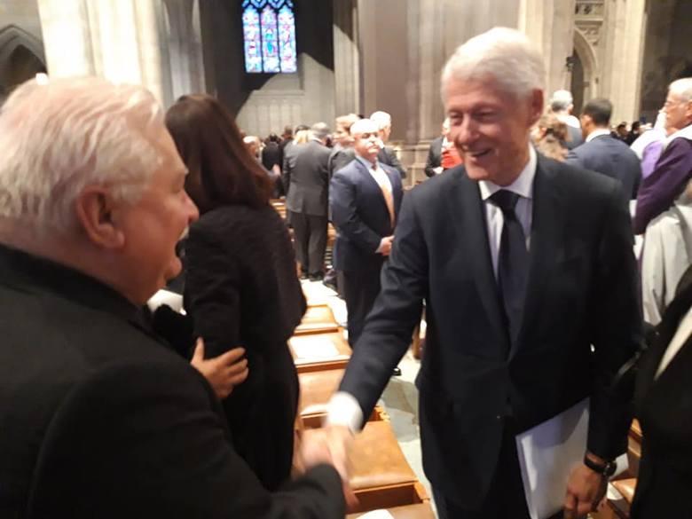 Lech Wałęsa spotkał się z politykami w USA.