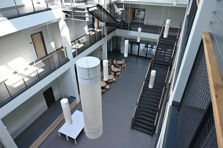 Wnętrza CK Technik - prezentowane są publicznie po raz pierwszy.
