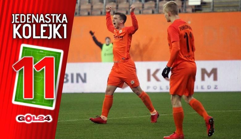 Jedenastka 19. kolejki Lotto Ekstraklasy według GOL24 [GALERIA]