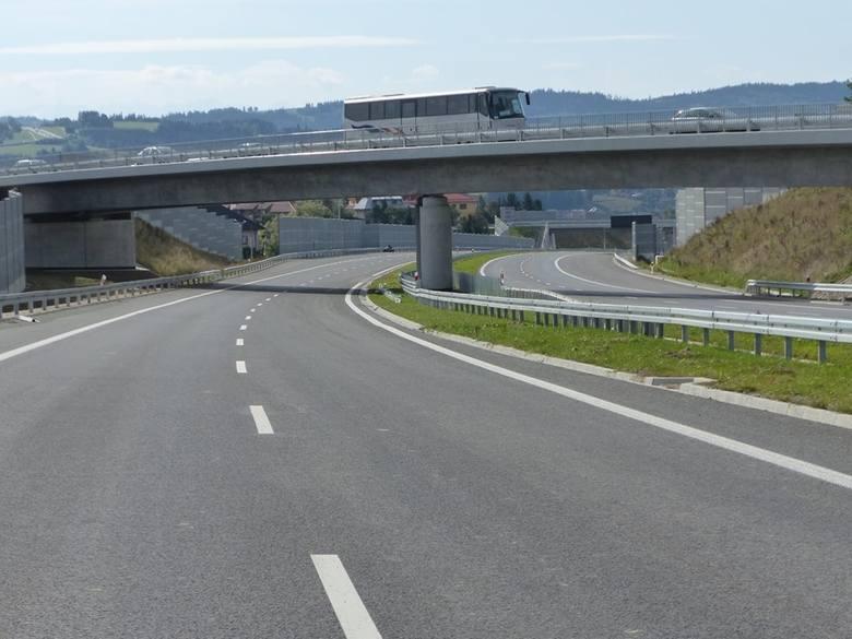 S7 Skomielna Biała - Rabka. Nowy, górski odcinek ekspresowej zakopianki otwarty!
