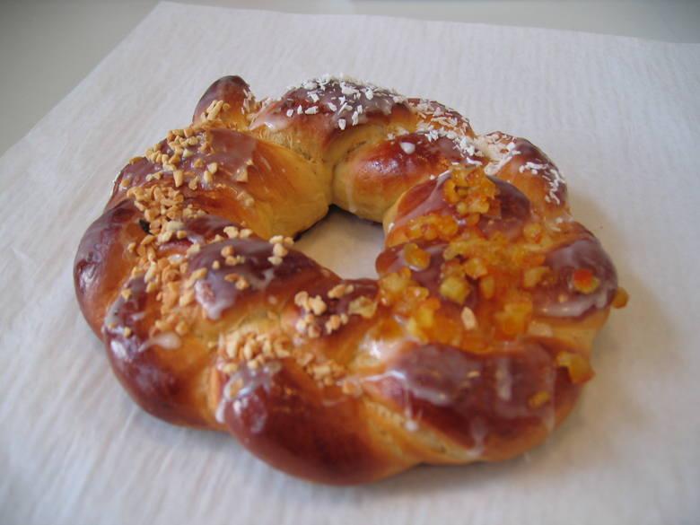 "Placek Trzech Króli (rosca de Reyes) z firmy ""Pellowski"""