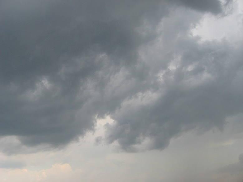 Gwałtowna burza nad Białymstokiem