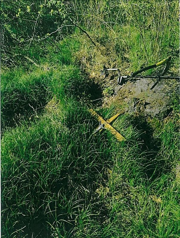 Spytkowice. Wrzesień 2020. Ekshumacja szczątków niemieckiego żołnierza. Znaleziono je w pobliżu lasu