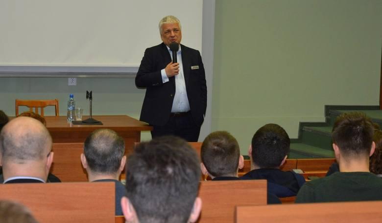 Robert Gwiazdowski spotkał się z Opolanami na UO.