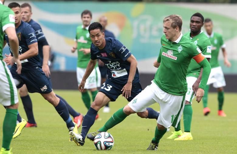 Pogoń Szczecin - Werder Brema 1:1