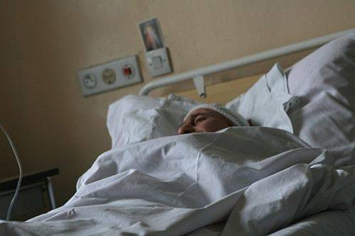 Drugi robotnik z podobnymi obrazeniami równiez lezy na oddziale chirurgicznym w szpitalu w Wysokiem Mazowieckiem