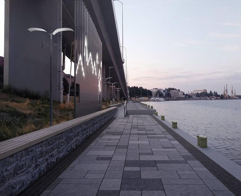 Projekt przebudowy bulwaru Chrobrego w Szczecinie