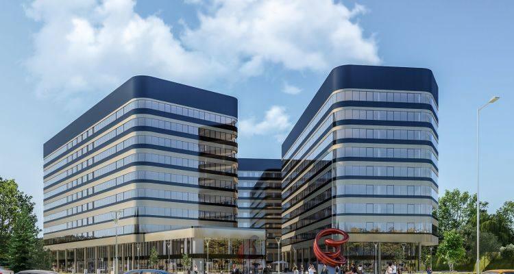 Budynek B1 w inwestycji Fabryczna Office Park (13,5 tys. mkw)