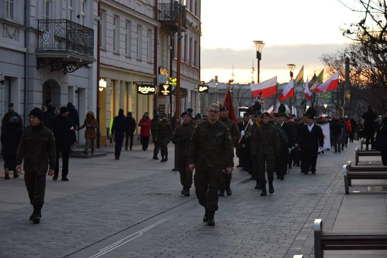 Marsz Pamięci Żołnierzy Wyklętych przeszedł przez Lublin. Zobacz zdjęcia
