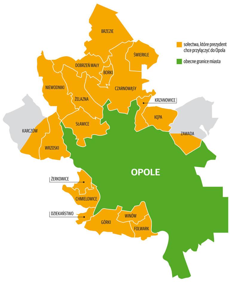 Prezydent Wiśniewski chce powiększyć Opole