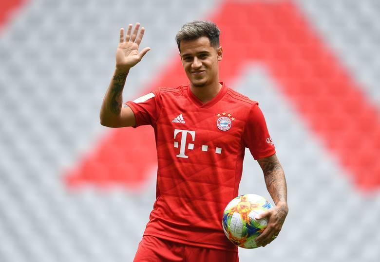 Lewandowski wreszcie się doczekał. Coutinho piłkarzem Bayernu Monachium.