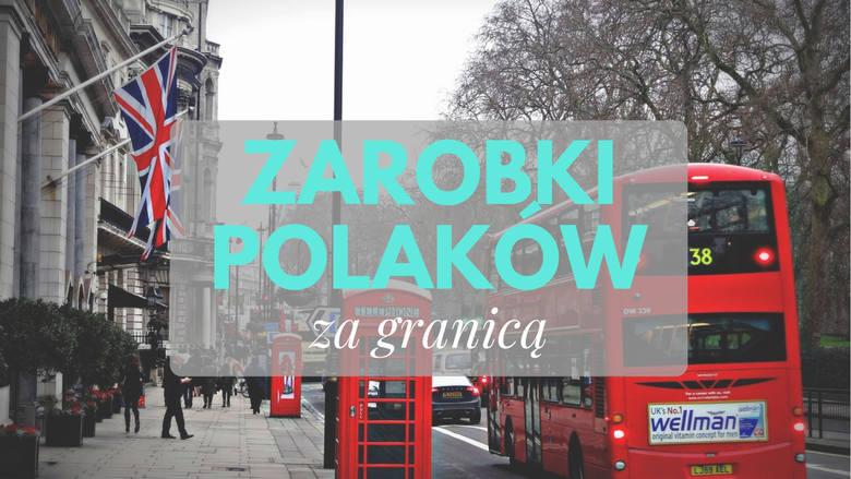 Ile wyniosły średnie zarobki Polaków za granicą? W którym kraju Polacy zarobili najwięcej? Prezentujemy dane opublikowane w raporcie euro-tax.pl dotyczącym