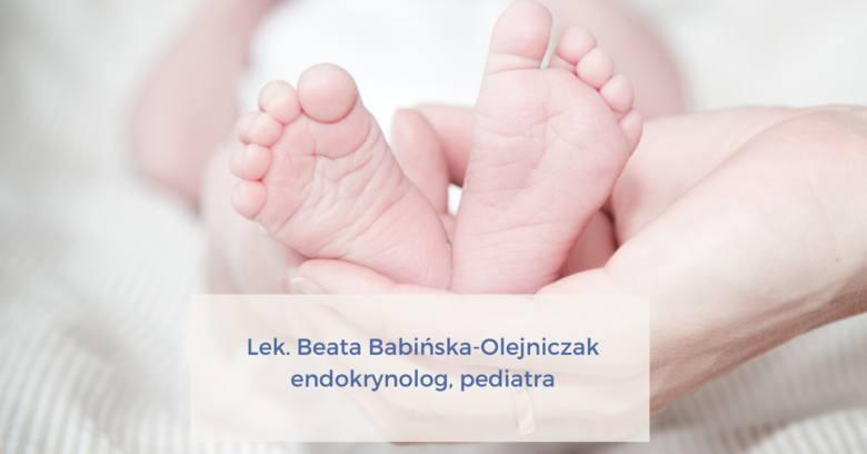 Lek. Beata Babińska-OlejniczakEndokrynolog, Pediatra87 opiniiAdres: Al. T. Kościuszki 98 lok.9, Śródmieście, Łódź(Prywatny Gabinet Endokrynologiczny,