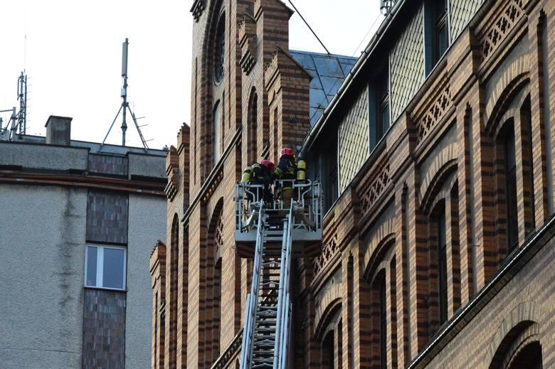 Nasi czytelnicy pytają, co dzieje się przy ulicy Pocztowej w Koszalinie. Sprawdziliśmy. To ćwiczenia straży pożarnej. Zobaczcie zdjęcia i wideo z tej