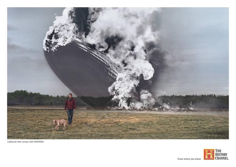 USA, New Jersey, Lakehurst: 1937/2004LZ-129 Hindenburg był największym w historii niemieckim sterowcem pasażerskim, który zapewniał podróżnym przelot