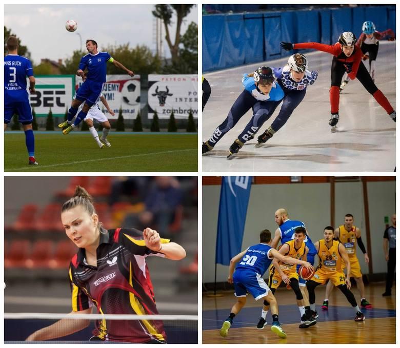 Końcowe kolejki zmagań jesiennych rozegrają piłkarze nożni z regionu. Ponadto są mecze ligowe koszykarzy, siatkarzy, piłkarzy ręcznych i tenisistek stołowych.