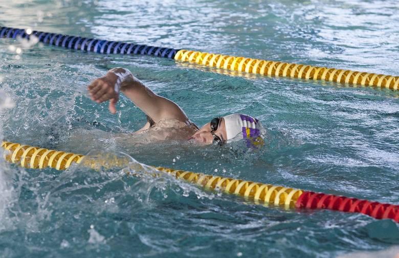 pływanie, basen, kraul