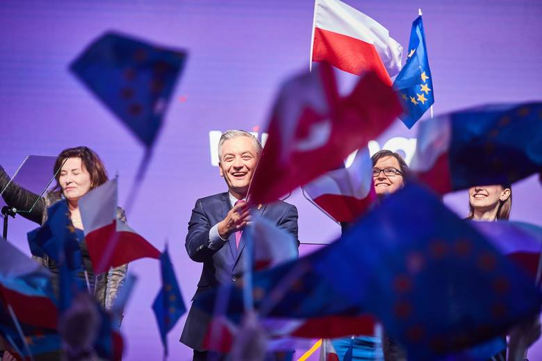 Robert Biedroń zapowiedział w Łodzi, że w 2035 roku w Polsce nie będzie używać się węgla