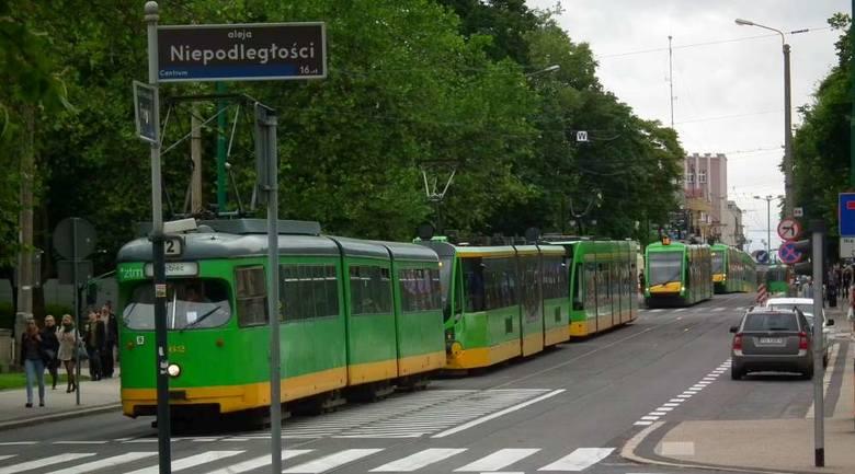 Rondo Starołęka: Nie jeździły tramwaje