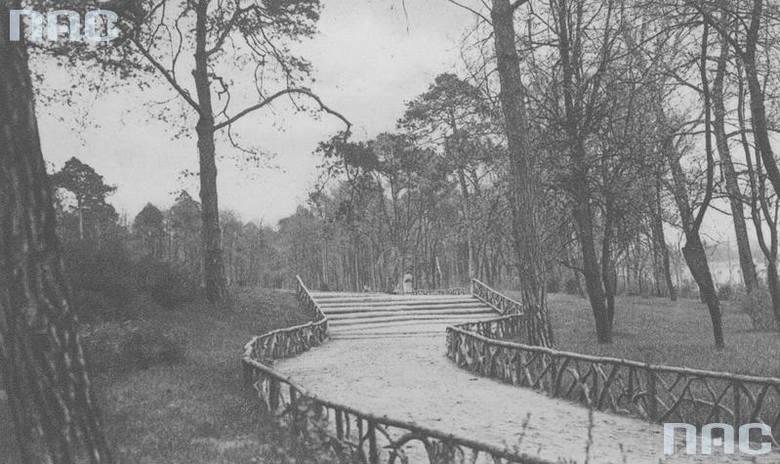 Park to doskonałe miejsce do spacerów w każdym mieście. Jak wyglądały parki miejskie w naszym regionie ponad 70 lat temu? Zobaczcie archiwalne zdjęcia!Ponad
