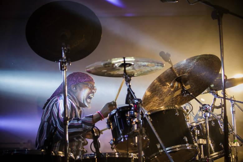 Jedną z gwiazd tegorocznej odsłony festiwalu Tarnów Jazz Contest był znakomity, znany perkusista Grant Calvin Weston