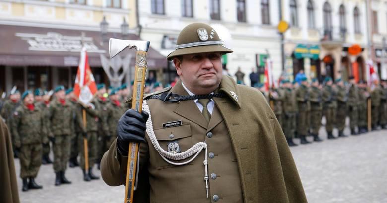 Pułkownik Dariusz Lewandowski, dowódca 21 Brygady Strzelców Podhalańskich w Rzeszowie, generałem brygady