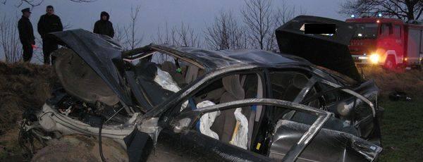 Wypadek w Rzechcinie.