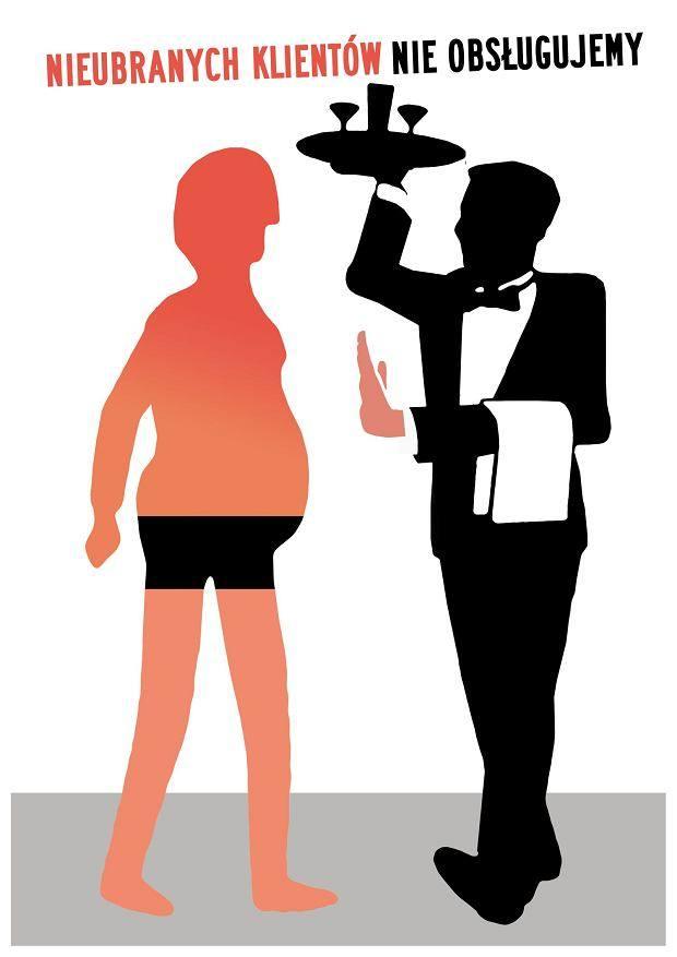 Nieubranych klientów nie obsługujemy, czyli jak Sopot walczy z golizną