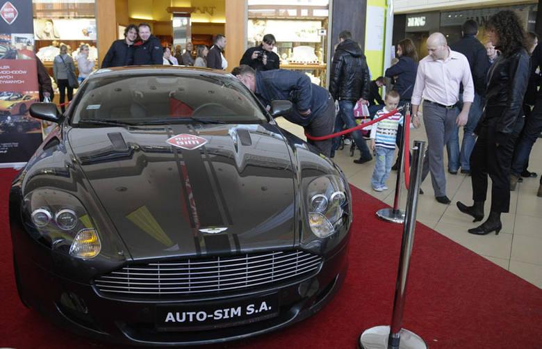Do końca tygodnia w Manufakturze, w ramach imprezy Car Show, można podziwiać motoryzacyjne rodzynki.