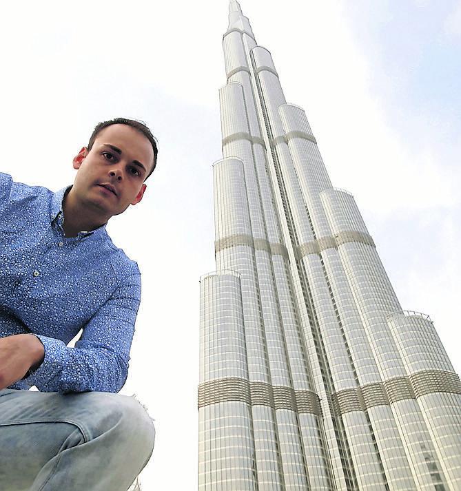 Za pracą poleciał do Dubaju, bo marzenia są po to by je spełniać