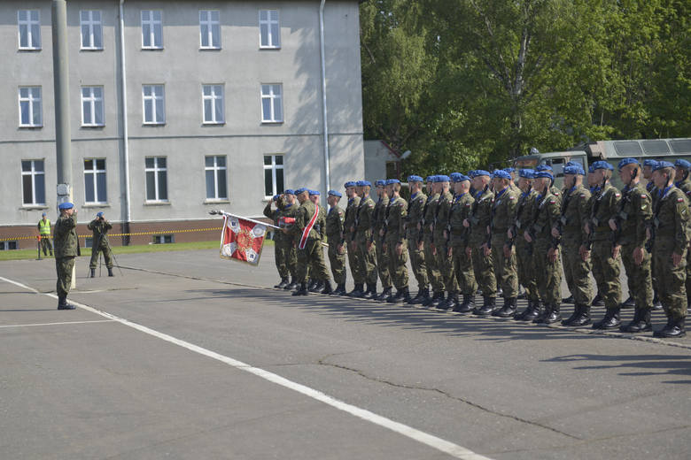 W scenerii pięknej słonecznej lipcowej pogody, przy licznym udziale swoich bliskich oraz przybyłych mieszkańców Słupska żołnierze Legii Akademickiej