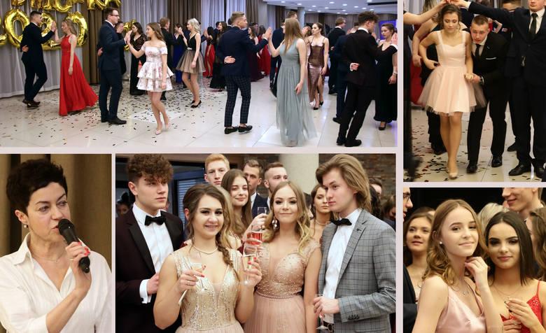 W sali hotelu Rudnik bawili się tegoroczni maturzyści z czterech klas I LO w Grudziądzu. Bal studniówkowy otworzyła i toast wygłosiła dyrektor Aleksandra