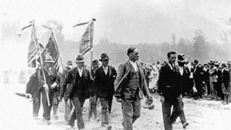 Strajk chłopski w Racławicach w 1937 r.