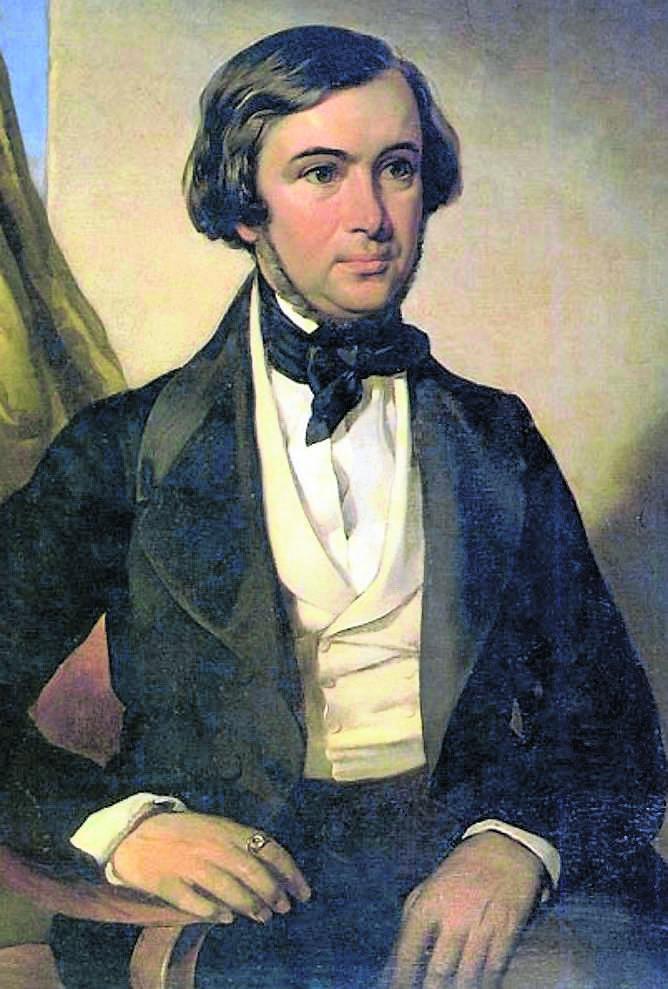 Karol Lipiński (1790-1861) - kompozytor, wirtuoz gry na skrzypcach, osiągnął w Europie podobną sławę jak słynny Paganini. Koncertował w pałacu międzyrzeckim, gdzie jego brat był dyrygentem.