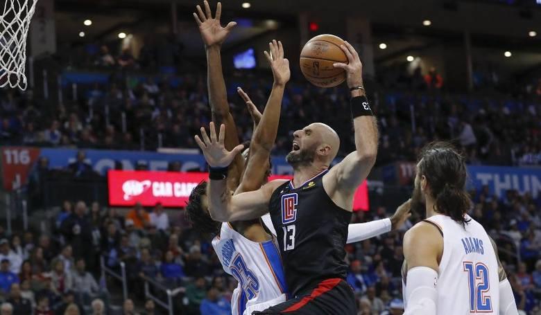 Marcin Gortat tłem w Los Angeles Clippers [NBA, Marcin Gortat, LA, koszykówka]
