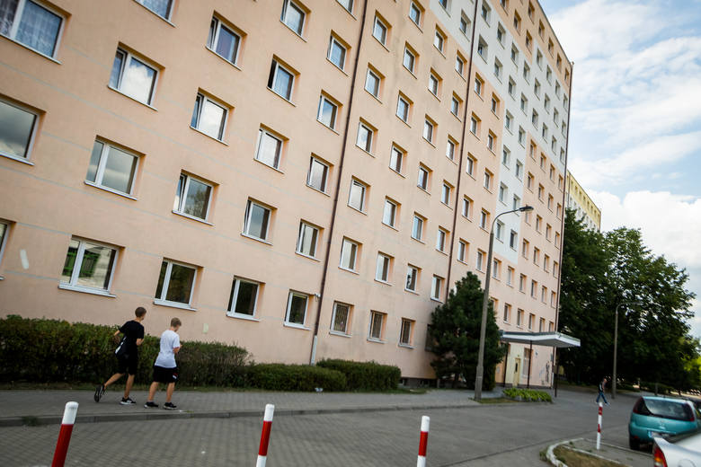 W Bydgoszczy miejsca są w akademikach UTP w Fordonie (na zdjęciu)